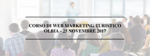 Corso web marketing turistico a olbia 25 novembre 2017
