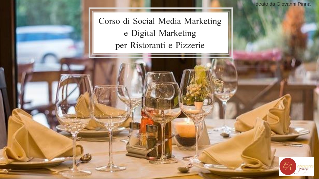 corso di social media e digital marketing per ristoratori e titolari di pizzerie