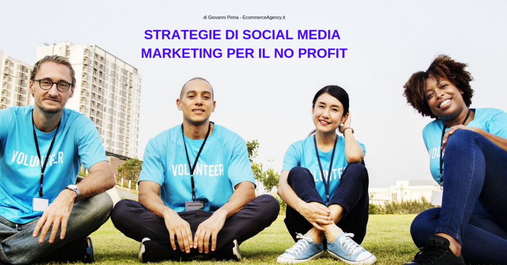 social media marketing per no profit
